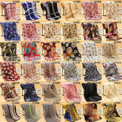 Fashion Women Long Soft Chiffon Scarf Wrap Shawl Stole Scarves Free Shipping