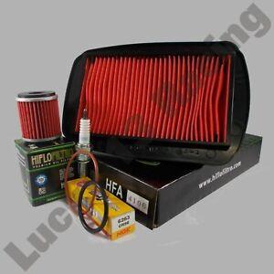 Service-kit-Yamaha-WR-125-R-X-09-17-oil-air-filter-Spark-plug-o-rings-NO-OIL
