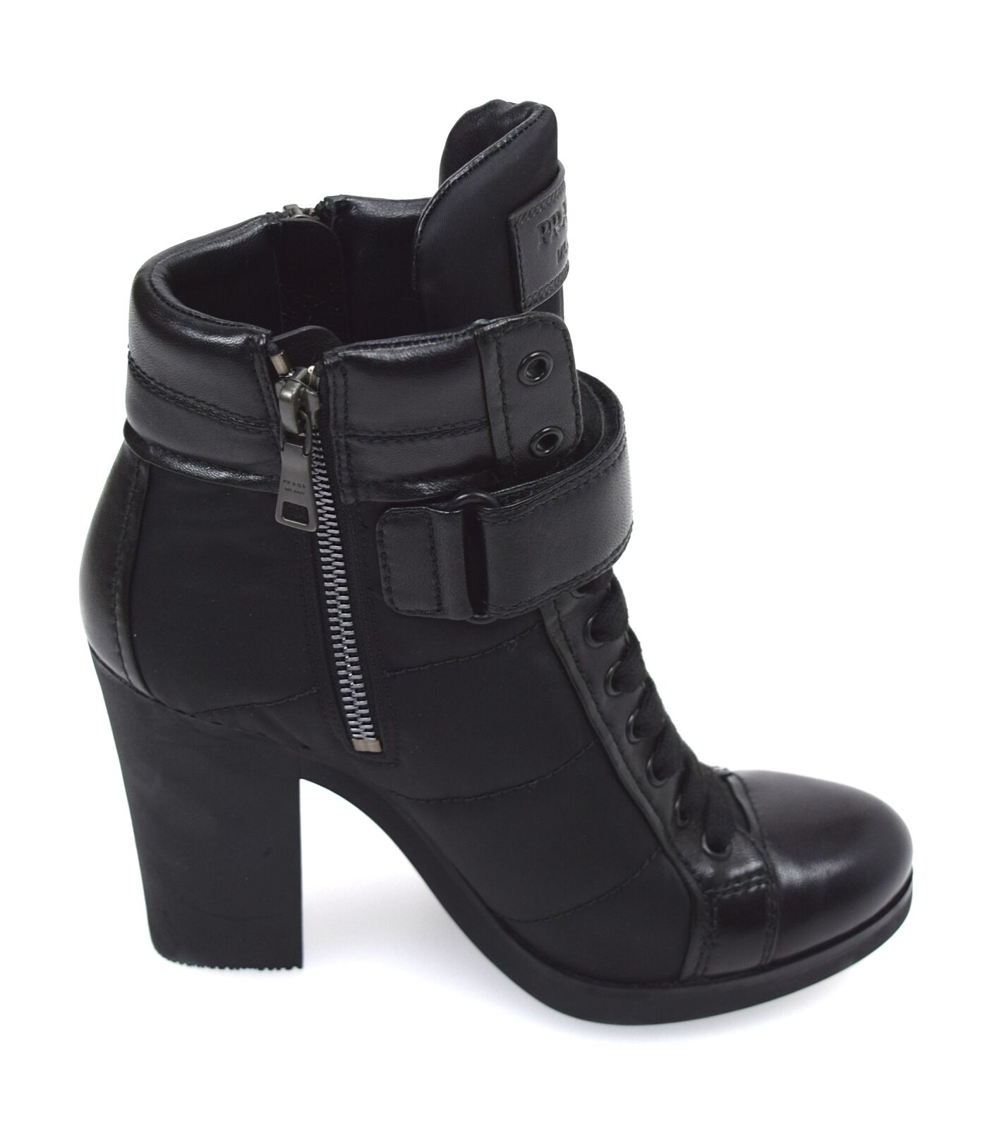 PRADA WOMAN ANKLE Stiefel StiefelIES WINTER WINTER WINTER CASUAL FREE TIME LEATHER CODE 3TP020 5c4025