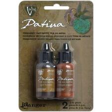 ANCIENT COIN Vintaj Patina Kit Ink Metal Stain AGED BRONZE & COPPER by  Ranger