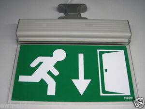 LED-Fluchtweg-Notleuchte-Notlicht-Fluchtwegleuchte-Notausgang-Notbeleuchtung-NEU