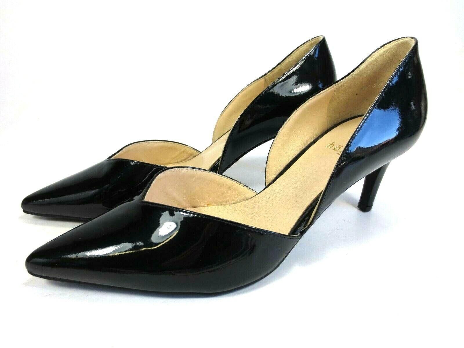 Högl Escarpins Chaussures En Cuir Noir Verni Neuf Prix Recomhommedé 109,95 Fête Abiball