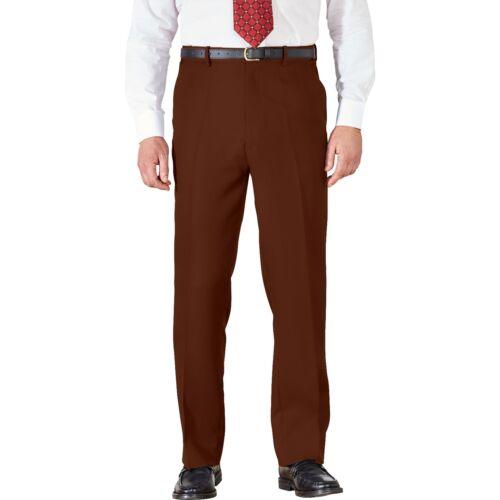 Da Uomo Chino Estate del 100/% Cotone Pantaloni Gamba Dritta Regolare Pantaloni Vita attiva