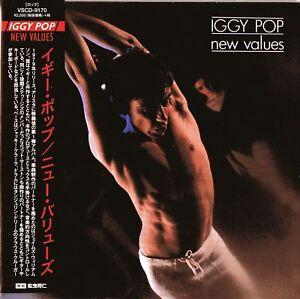 IGGY-POP-NEW-VALUES-JAPAN-MINI-LP-CD-F56