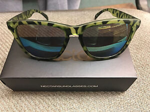 274497f048ba2 Image is loading Nectar-Sunglasses-GENUINE-Bungalow-Green -Tortoise-Frame-Gold-