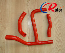 Silicone Radiator Y Hose For SUZUKI RMZ250 RMZ 250 2010 2011 10 11  RED