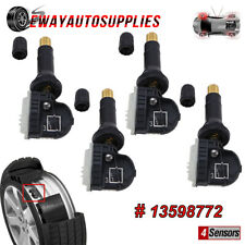 Set Of 4 New Tpms Tire Pressure Sensor For Chevrolet Gmc Pontiac Saturn 13598772