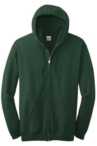 18600 Gildan Heavy Blend Full Zip Hooded Sweatshirt Sml-XL