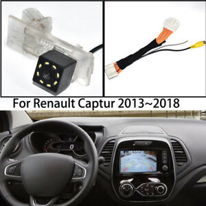 Car Rear View Parking Reverse Backup Camera Adapter For Renault