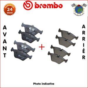 Kit-plaquettes-de-frein-avant-arriere-Brembo-VW-TOUAREG-qi