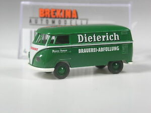 TOP-Brekina-VW-T1-Kasten-Dieterich-Brauerei-Duesseldorf-in-OVP