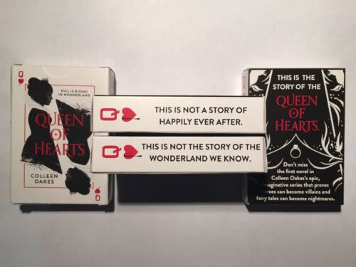2016 SDCC EXCLUSIVE Queen of Hearts Colleen Oakes Promo Deck of Playing Cards