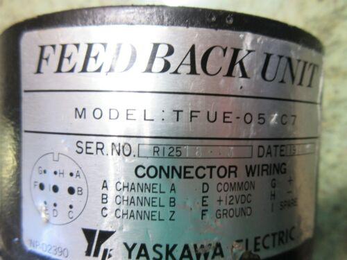 YASKAWA FEEDBACK UNIT MODEL TFUE-05ZC7 05ZC7 ENCODER WARRANTY EACH 1