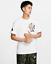 Nike-Sportswear-Girandola-Uomo-T-Shirt-L-Bianco-Vintage-Casual-Formazione-Scuola miniatura 1