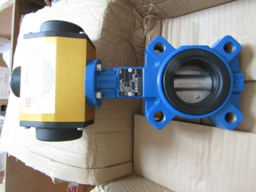 2in Pipe Size Pneumatic Actuated Lugged Butterfly Valve EPDM Liner Act 7998812