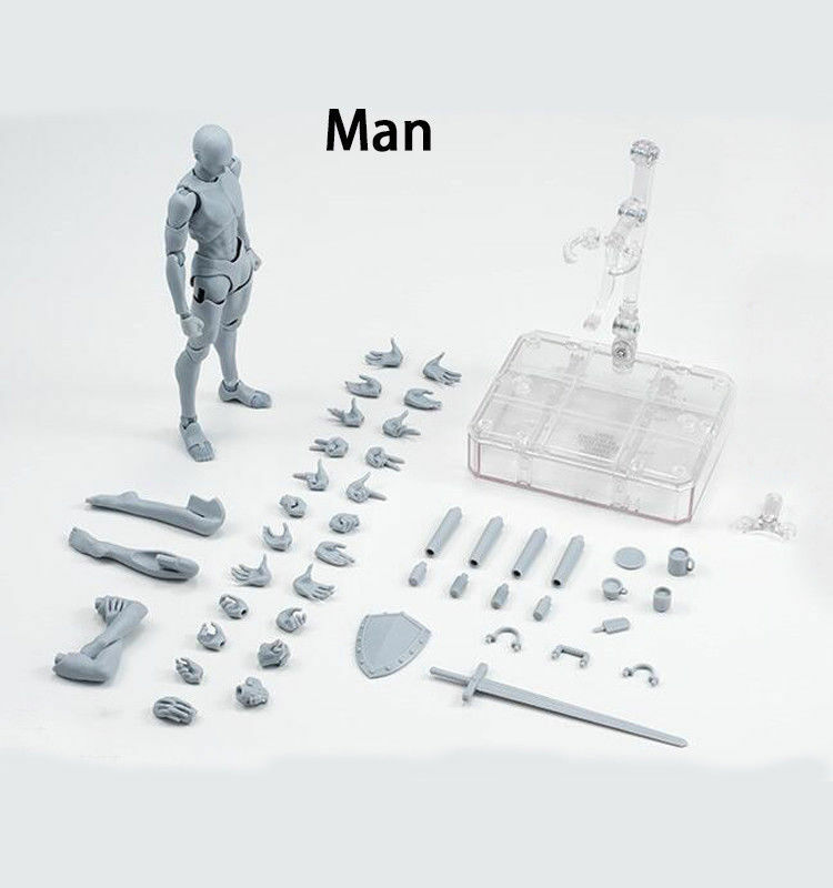 S.H.Figuarts SHF Body Kun Chan Chan Chan DX Set Grey color Model Action Figure Toy Doll 81b973