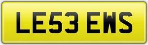 LEWIS-CHEAP-NEAT-CAR-REG-NUMBER-PLATE-LE53-EWS-Lew-Louey-Lewy-Lewey-Lws-Lewie-Lu