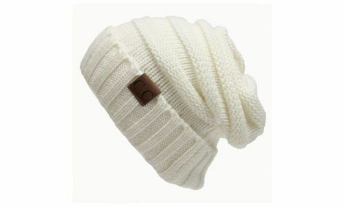 Nouveau CC Beanie Femme Chapeau Skully Unisexe Slouch Color Cable Knit Beanie USA