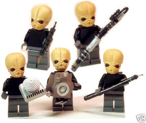 FIGRIN D'AN cantina band custom minifigs star wars lego modal nodes legos jabba