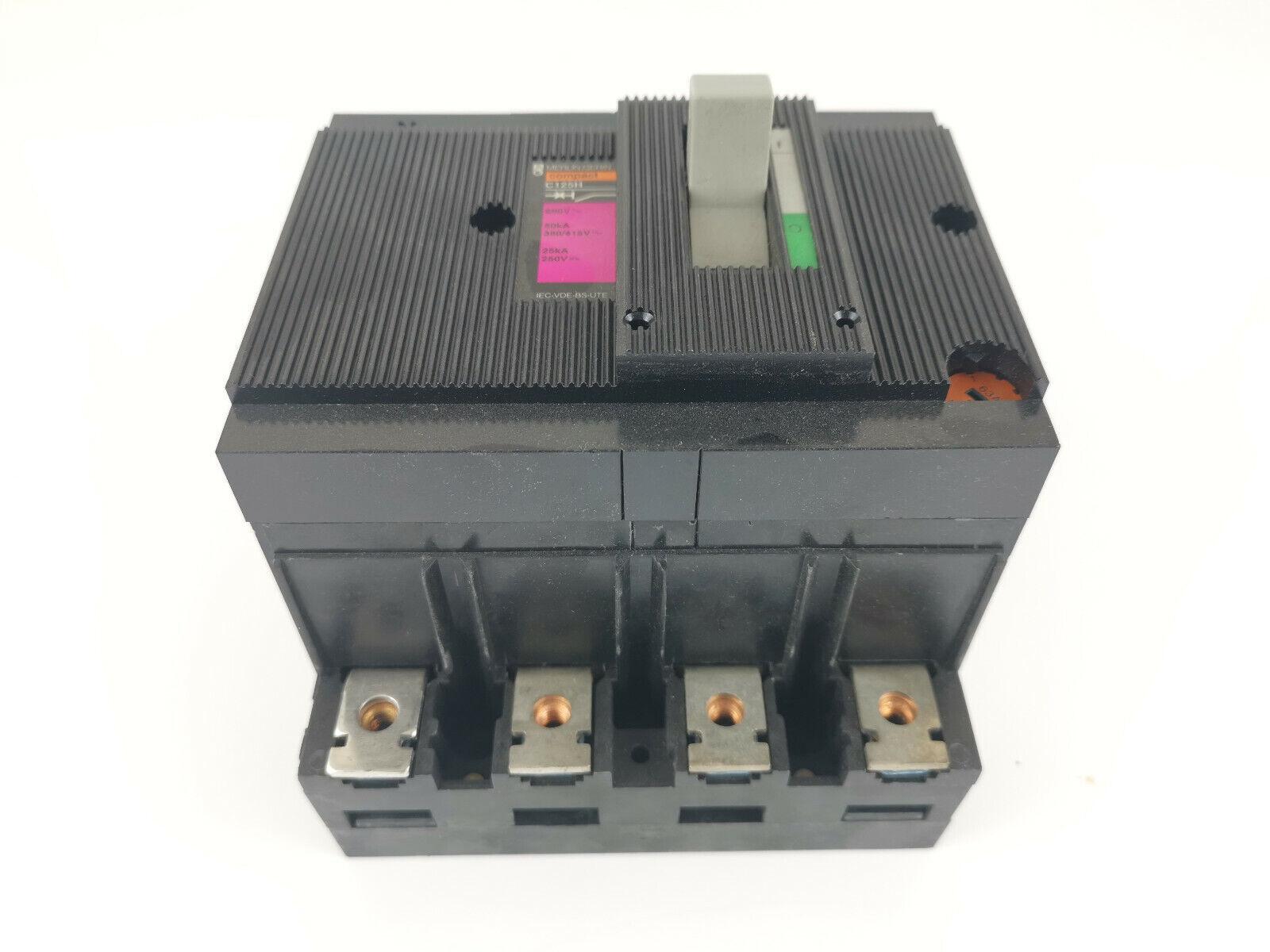 Image 5 - Merlin Gerin Schneider C125H 63A Power Switch 41379