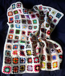 BAXTER-039-S-BLANKET-Handmade-Crochet-Cot-Moses-Basket-Car-Seat-Over-Knee