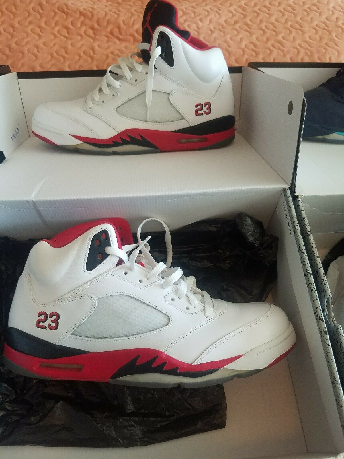 Jordan 5 Fire Red Size 13.5