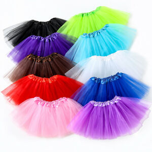 ab91321e9 Baby Girl Tutu Skirt Kids Ballet Dance Wear Ball Gown Party ...