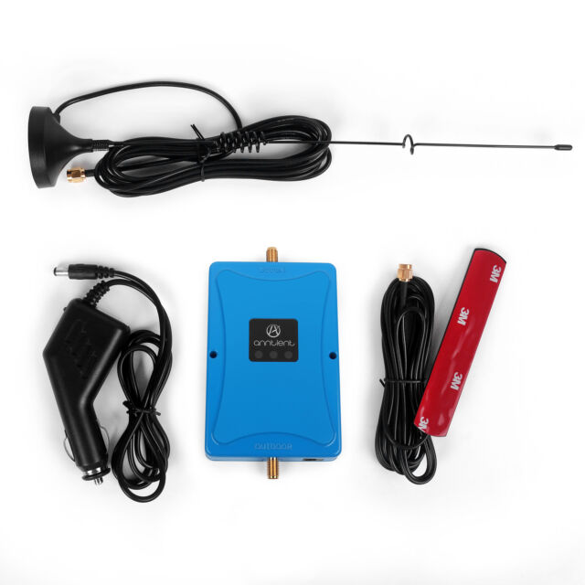 1800MHz 2G 4G LTE Signal Booster Mobile Repeater  +Antenna for Car Truck RV
