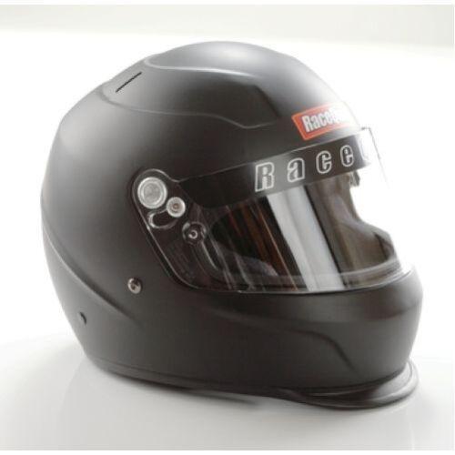 Racequip 273995 PRO15 SA2015 Full Face Helmet Large Flat Black
