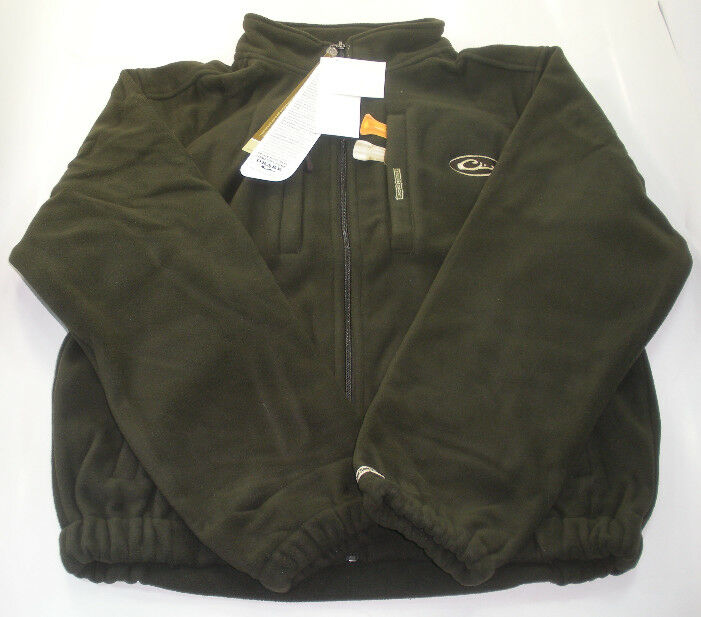 Drake Waterfowl DW215360 Olive Fleece Coat Large 17629   exciting promotions
