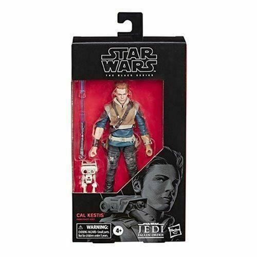 Star Wars The Black Series Fallen commande Cal kestis Action Figure 6 pouces