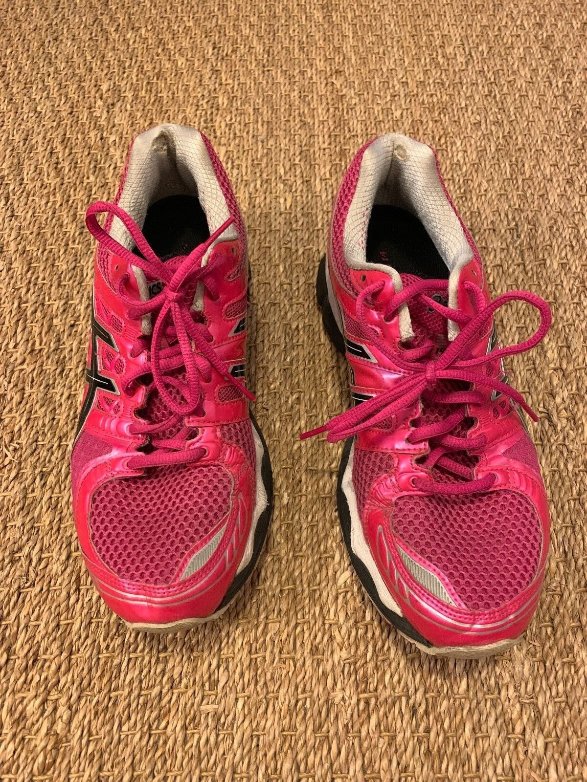 Asics Women's Pink Running shoes Size 10