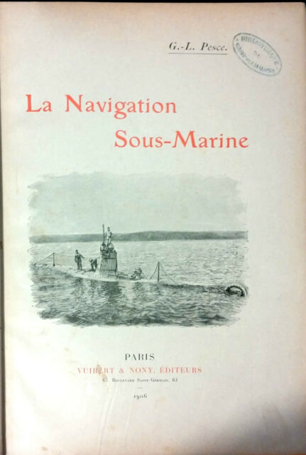 LA NAVIGATION SOUS-MARINE DI G.-L. PESCE.