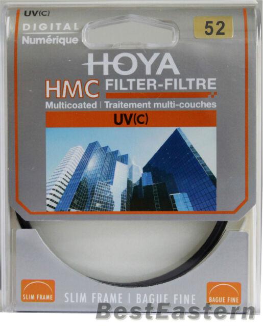 Genuine HOYA HMC UV (C) 52mm Multi-Coated Slim frame lens filter 52 mm