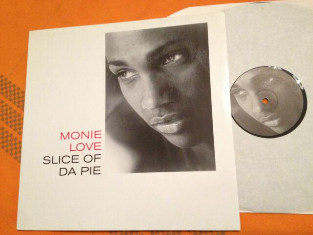 """MONIE LOVE - Slice Of Da Pie - 2000 German press. 12"""" Vinyl RnB/Hip-Hop - NMINT+"""