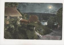 King Harry Passage River Fal Cornwall 1904 Moonlight Postcard 317b