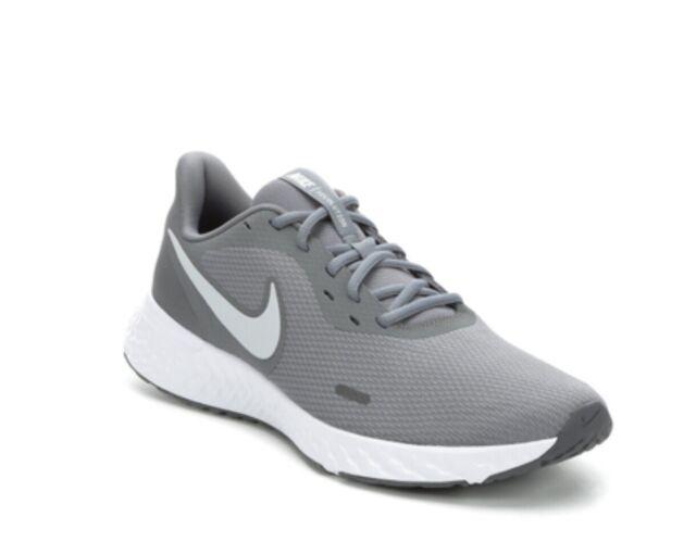 Nike Revolution 4 Running Shoe 6.5 Grey