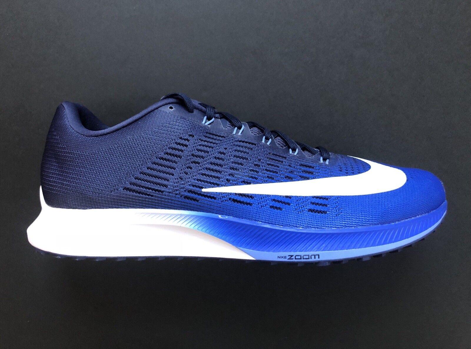 Nike Air Zoom Elite Hyper Royal Royal Royal White Running shoes 863769-406 Size 12 b42c4a