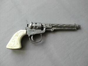 Soviet Vintage RARE TIN TOY Pistol Kadet Original 100% de URSS
