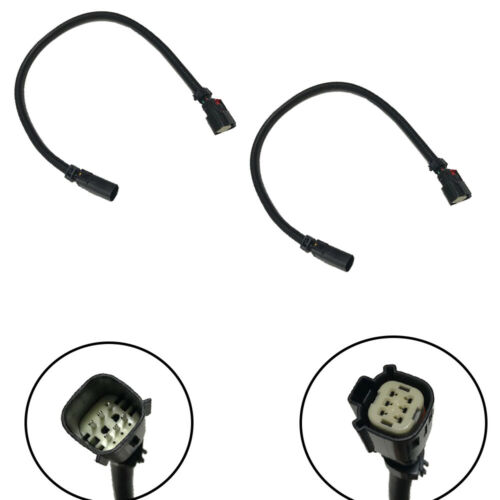 """2 X New 24/"""" O2 Oxygen Sensor Extension Wire Harnesses For Ford Mustang S550 5.0L"""