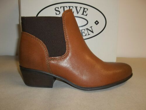 Rozamare 889163697827 Dark Size Madden 6 Boots Steve Womens Cognac M Ankle Leather New Shoes 6qwTUnnI
