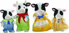 Cow Family ❤ Sylvanian Families Calico Critters EPOCH Japan