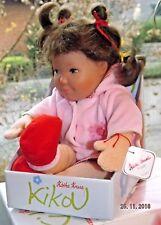 Puppe Käthe Kruse KIKOU, Name: PINA unbespielt in OVP aus Sammlung