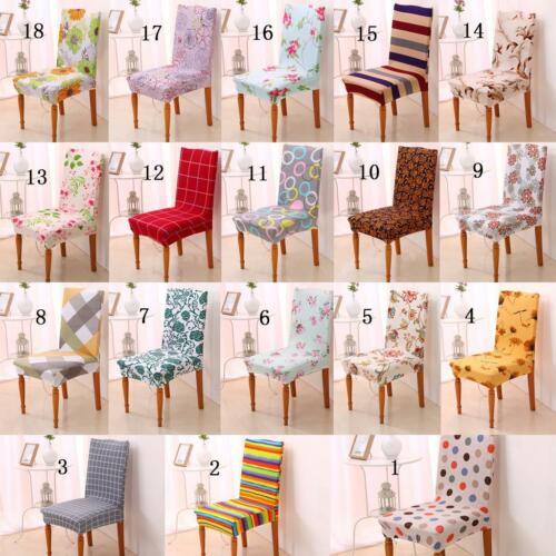 40*90cm Short Chair Cover Kitchen Dining Room Slipcover Venue Banquet Decor