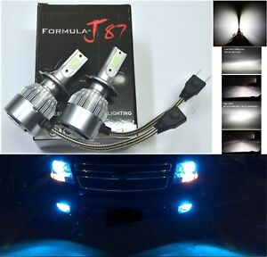LED-Kit-C6-72W-H7-10000K-Blue-Two-Bulbs-Head-Light-Low-Beam-Replacement-Lamp-Fit