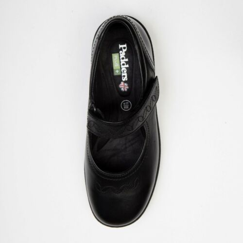 Dual Padders Jane Wide Ladies 2 Black Sprite 4e Casual Fitting Shoes 3e Mary rqwArpYXxz