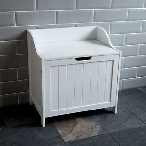 Image Is Loading Priano Bathroom Laundry Cabinet Storage Bin Chest Basket