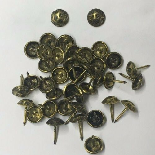 """US105 100-250-500-1000 7//16/"""" Oxford Hammered Decorative Nail Upholstery Tacks"""
