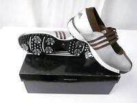 Adidas W Driver Lucy Women Golf Shoes Size 5 1/2 (silver / Brown)