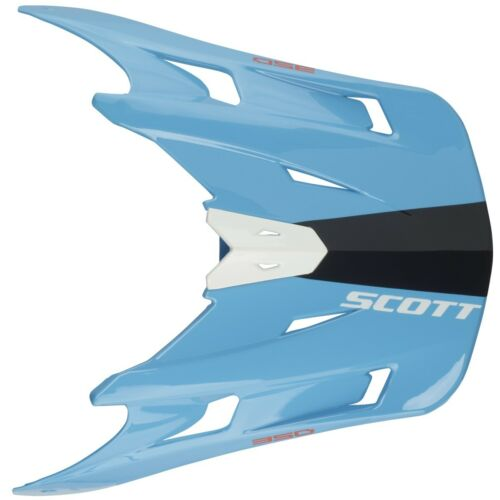 Scott 350 race Kids visor casque visière bleu//noir